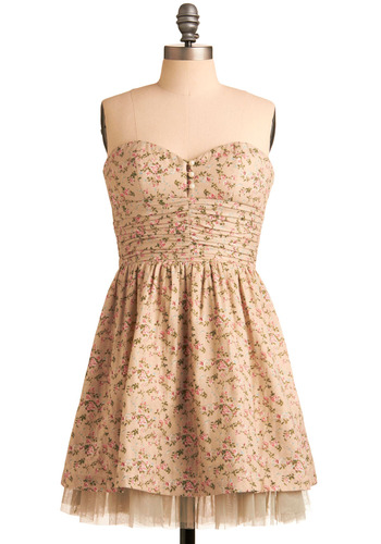 Pleasant and Thank You Dress | Mod Retro Vintage Printed Dresses | ModCloth.com from modcloth.com