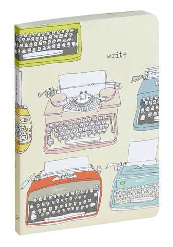 Write To Left Journal by Chronicle Books - Multi, Red, Yellow, Green, Blue, Grey, Travel