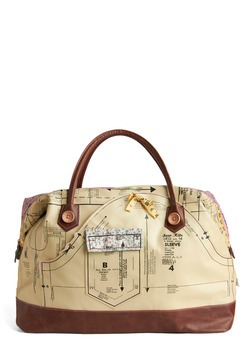Holding Pattern Overnight Bag