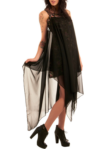 Casting Shadows Dress Mod Retro Vintage Printed Dresses ModCloth com from modcloth.com