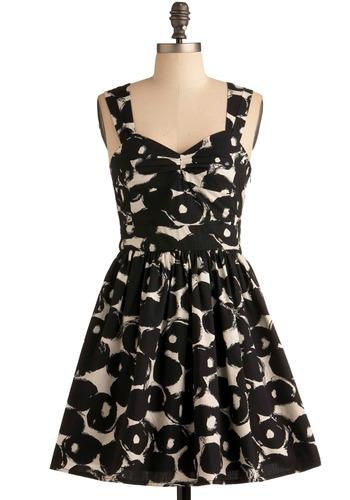 A Lovely Life Dress | Mod Retro Vintage Printed Dresses | ModCloth.com