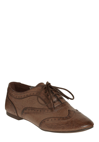 Come On, Brogue - Brown, Work, Casual, Menswear Inspired, Spring, Fall, Winter