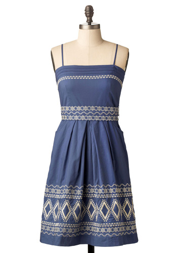 Hellenic Festival Dress - Mid-length