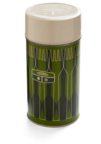 Vintage Forest Feast Thermos Bottle