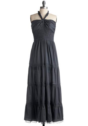 Fog on the Moor Dress | Mod Retro Vintage Solid Dresses | ModCloth.com from modcloth.com