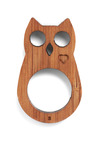 Finger Poppet in Owl - Brown, Cutout, Casual, Owls