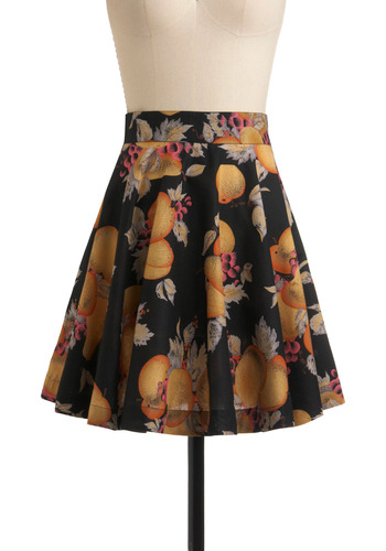 Jack-and-Jill Dance Skirt | Mod Retro Vintage Skirts | ModCloth.com :  whimsical twirly fruit grape