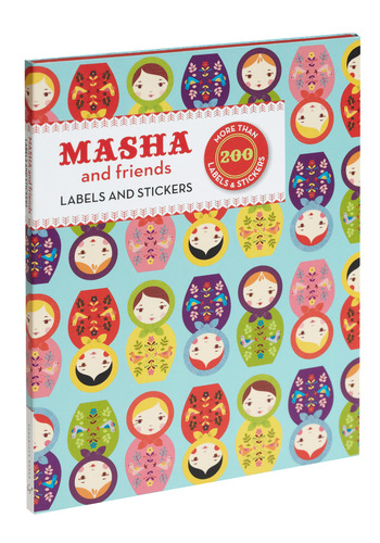 Masha & Friends Sticker Set by Chronicle Books - Multi, Top Rated