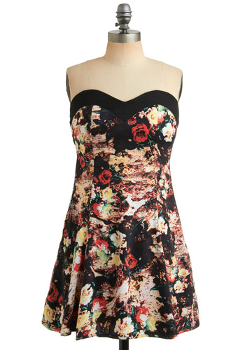 Floral Frontier Dress | Mod Retro Vintage Printed Dresses | ModCloth.com from modcloth.com