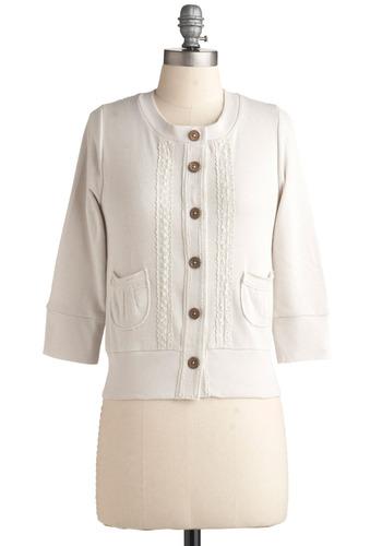 Ice Box Cake Cardigan | Mod Retro Vintage Long Sleeve Shirts | ModCloth.com