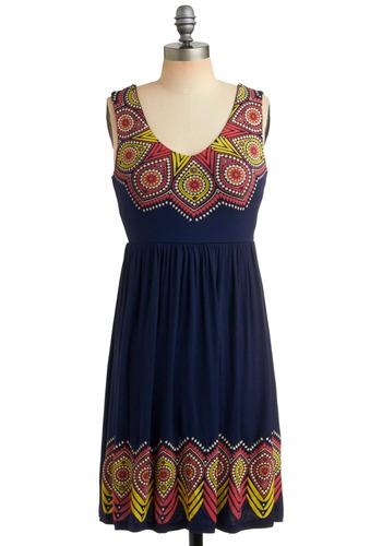 Screenprint Starlet Dress