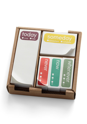 Someday Sticky Note Set - Multi, Dorm Decor