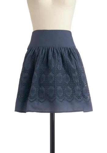 Friend Indeed Skirt | Mod Retro Vintage Skirts | ModCloth.com from modcloth.com