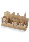 Sort and the City Desk Organizer - Tan, Cream, Dorm Decor