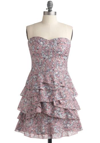 Whisper I Love You Dress | Mod Retro Vintage Printed Dresses | ModCloth.com