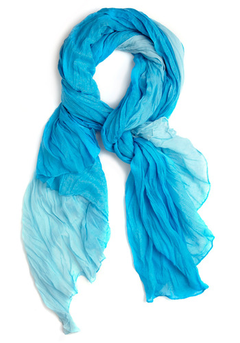 The Current Fashion Scarf - Blue, Casual