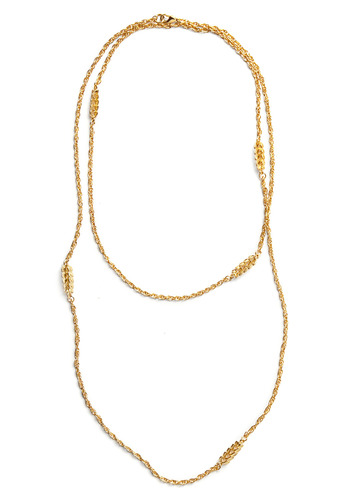 We're Golden Necklace - Gold, Chain, Party, Casual