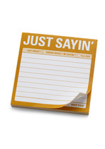 Just Sayin Sticky Notes