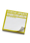 Status Update Sticky Notes by Knock Knock - Multi, Dorm Decor