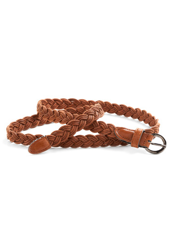 Braid My Wear Belt - Tan, Solid, Braided, Casual, Boho, Spring, Summer