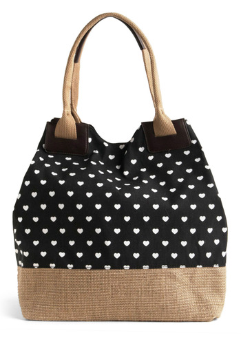 Heart to Leave Behind Bag | Mod Retro Vintage Bags | ModCloth.com :  hearts woven cute tote