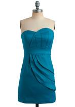 Teal Tides Dress