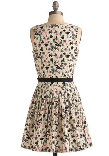 leaf lets dress mod retro vintage printed dresses modclothcom