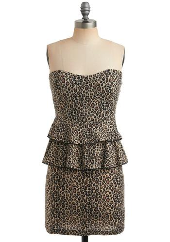 Spot the Fashionista Dress   Mod Retro Vintage Printed Dresses   ModCloth.com