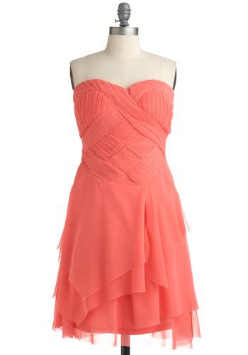 I Ingenue It! Dress | Mod Retro Vintage Solid Dresses | ModCloth.com