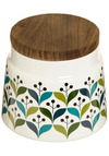 The Kind Kitchen Canister - Blue, Green, White, Mid-Century, Good, Wedding, Top Rated