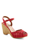 Sonoran Sun Wedge - Red, Spring, Summer, Wedge