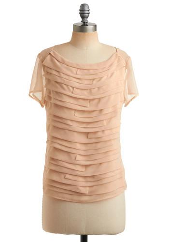 Mandarin Lessons Top | Mod Retro Vintage Short Sleeve Shirts | ModCloth.com