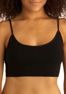 Layer Away Camisole Bra in Black