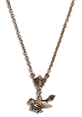 The Best Wing Ever Necklace - Gold, Chain, Work, Casual