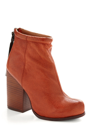 Ally McBoot by Jeffrey Campbell - Brown, Orange, Black, Solid, Tassels, Casual, Statement, Spring, Summer, Fall
