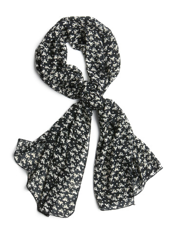 Kitty Slicker Scarf | Mod Retro Vintage Scarves | ModCloth.com from modcloth.com