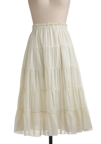 Petticoat on the Prairie Skirt | Mod Retro Vintage Skirts | ModCloth.com