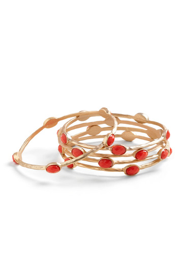 Out with a Bangle Bracelets | Mod Retro Vintage Bracelets | ModCloth.com from modcloth.com