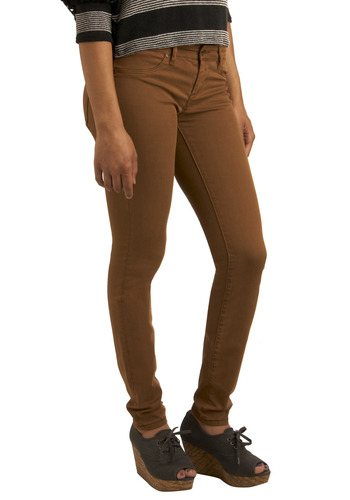 Bookish Babe Jeans by Blank NYC - Brown, Solid, Pockets, Casual, Long