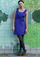 Violet Us Be Lovers Dress