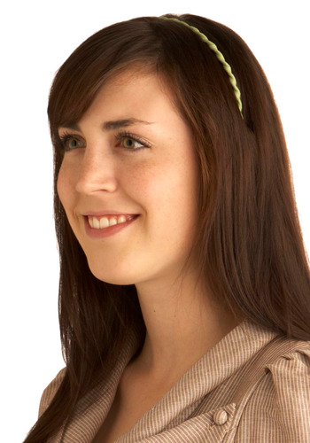 Double Your Helix Headband in James - Green, Party, Work, Casual