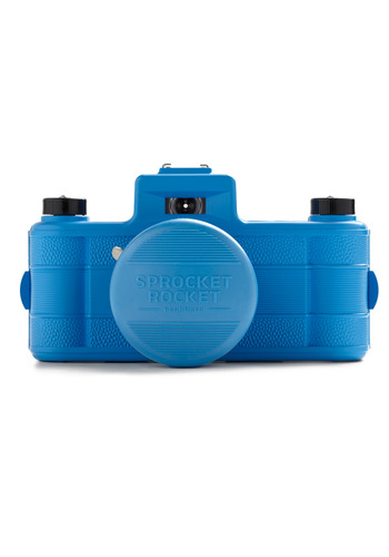 Sprocket Rocket SUPERPOP Camera in Blue by Lomography - Blue, Vintage Inspired