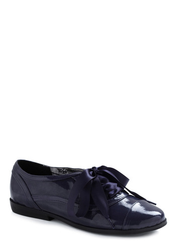 Ink with the New Shoe - Blue, Solid, Bows, Party, Work, Casual, Menswear Inspired