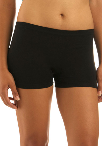Here to Stay-ple Shorts in Black - Black, Solid, Seamless