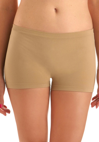 Here to Stay-ple Shorts in Khaki - Tan, Solid, Seamless