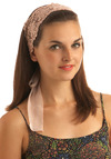 Glittery, Glittery Princess Headband - Pink, Floral, Lace, Party, Work, Casual