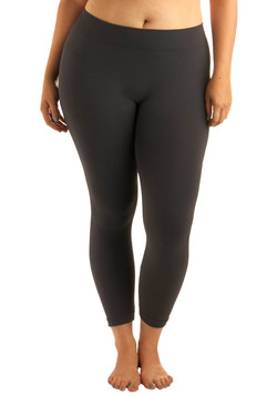 Perfect Pairing Leggings in Charcoal - Plus Size