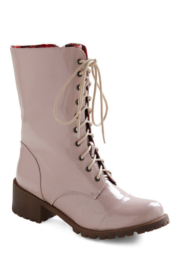 A-boot Town - Purple, Solid, Casual, Fall, Winter