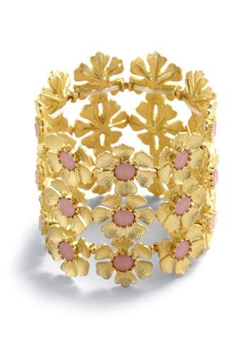 Blossoming Romance Bracelet - Gold