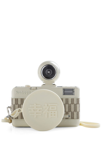 Special Edition Fisheye No. 2 Lomography Camera in SHIAWASE by Lomography - White